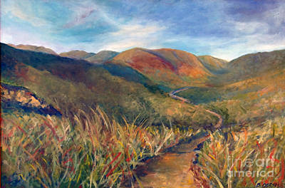 Painting - Mt. Diablo Hills by Barbara Oertli