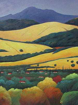 Painting - Mt. Diablo In Distance by Gary Coleman