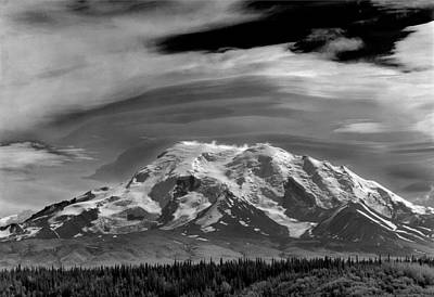 Photograph - 201855-mt. Drum, Alaska by Ed  Cooper Photography