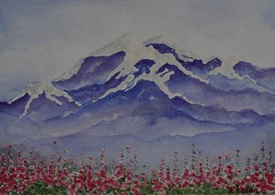 Painting - Mt. Drum by Kathleen Keller