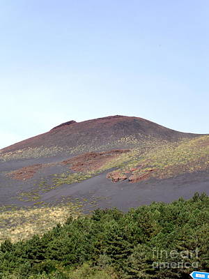 Photograph - Mt Etna At Rest by Pauline Margarone