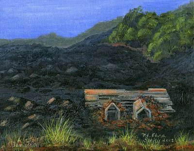 Sicily Painting - Mt. Etna by Jamie Frier