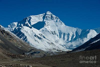 Landscape Photograph - Mt. Everest by Kim Pin Tan