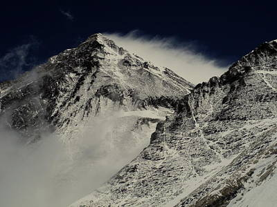 Landscape Photograph - Mt Everest by Leanna Shuttleworth