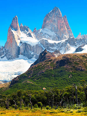 Photograph - Mt Fitz Roy by JR Photography