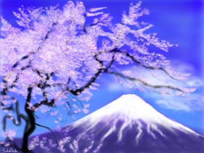 Mt Fuji 33 Art Print by Yoshiyuki Uchida
