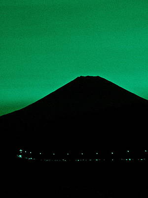 Photograph - Mt Fuji At Dusk - 2 by Larry Knipfing