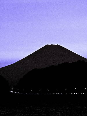 Photograph - Mt Fuji At Dusk - 3 by Larry Knipfing
