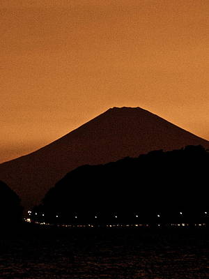 Photograph - Mt Fuji At Dusk - 4 by Larry Knipfing