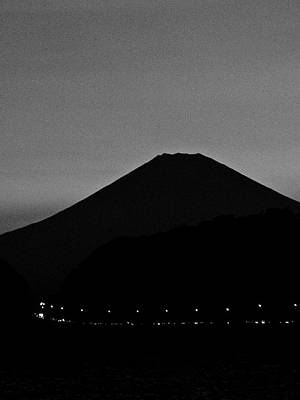 Photograph - Mt Fuji At Dusk - 6 by Larry Knipfing