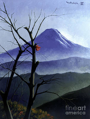 Painting - Mt. Fuji by Paul Collins