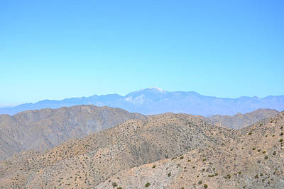 Photograph - Mt Gorgonio From Keys View - Joshua Tree National Park by RD Erickson