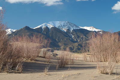 Mt. Herard And The Sand Dunes Colorado Art Print