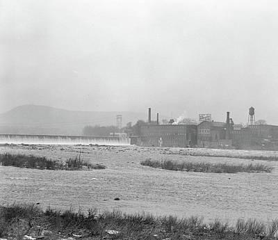 Mt. Holyoke, Massachusetts - Scenes. The Dam Art Print