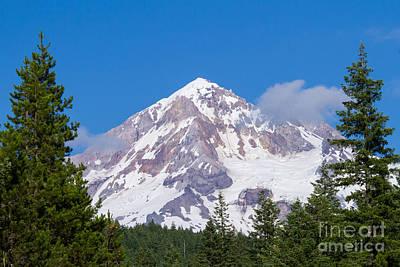 Photograph - Mt. Hood #2 by Paul Rebmann