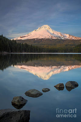 Photograph - Mt Hood Evening by Brian Jannsen