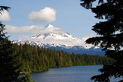 Photograph - Mt Hood From The Shadows by Robert  Moss