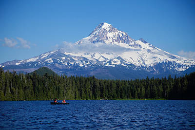 Photograph - Mt. Hood Lost Lake by Crystal Cox