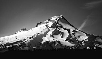 Mt. Hood Art Print by Ron Latimer