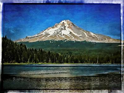 Photograph - Mt. Hood - Trillium Lake by Thom Zehrfeld