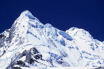 Mt Hualcan Art Print