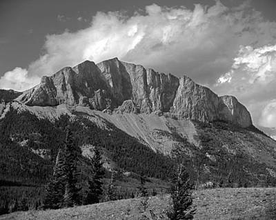 Photograph - 1m3215-mt. John Laurie Or Yamnuska by Ed  Cooper Photography