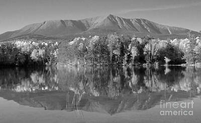 Photograph - Mt Katahdin Baxter State Park Fall by Glenn Gordon
