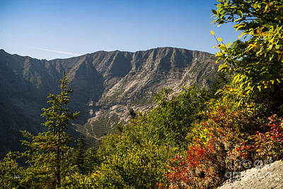 Mt. Katahdin From Hamlin Ridge Art Print