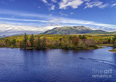 Mt Katahdin Hdr Art Print by Glenn Gordon
