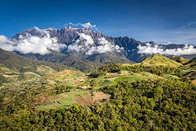 Mt. Kinabalu - The Highest Mountain In Borneo Art Print by Veronika Polaskova