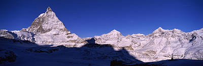 Zermatt Photograph - Mt Matterhorn From Riffelberg, Zermatt by Panoramic Images