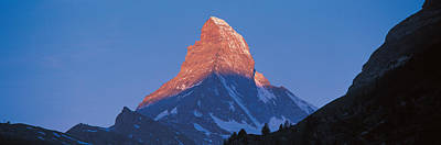 Magnificent Mountain Image Photograph - Mt Matterhorn Zermatt Switzerland by Panoramic Images