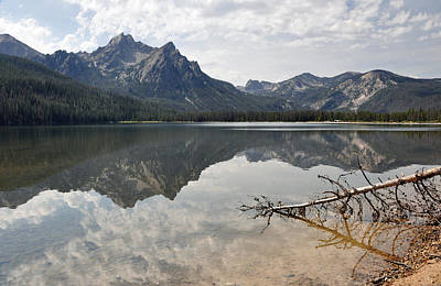 Photograph - Mt. Mcgowan Reflected In Stanley Lake by Victoria Porter