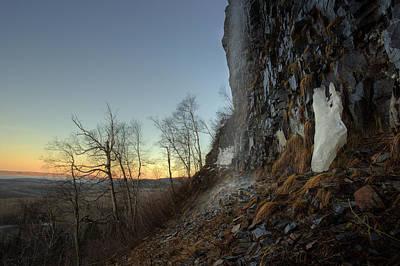 Mt Mckay Spring Waterfall Art Print by Jakub Sisak