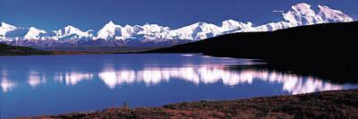 Mt. Mckinley & Wonder Lake Denali Art Print by Panoramic Images