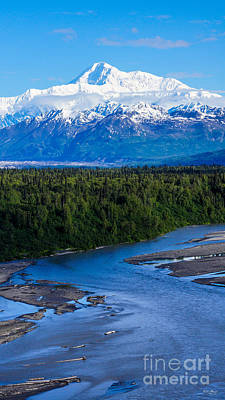 Photograph - Mt. Mckinley Alaska by Jennifer White