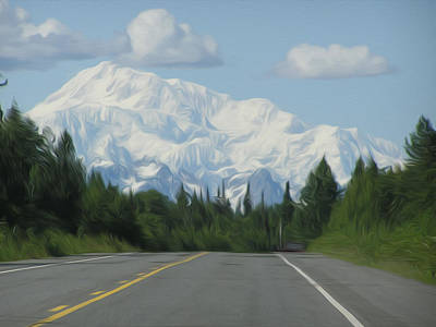 Mt. Mckinley Art Print by Jewels Blake Hamrick