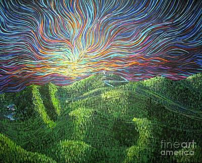 Mt. Mitchell  Art Print