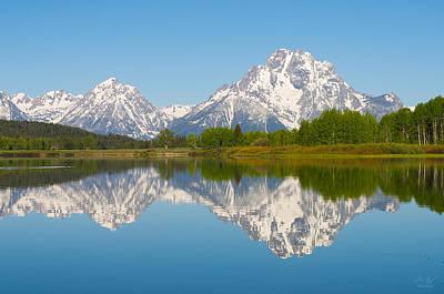 Photograph - Mt. Moran  by Aaron Spong