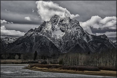 Photograph - Mt. Moran by Erika Fawcett