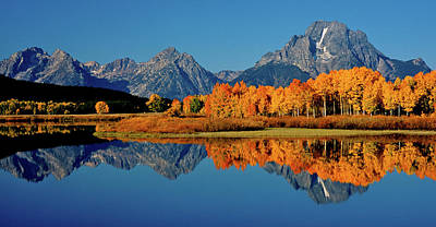 Mt. Moran Reflection Art Print