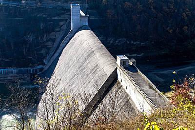 Photograph - Mt Morris Dam by William Norton