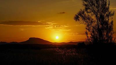 Photograph - Mt. Ninderry by Joe Michelli