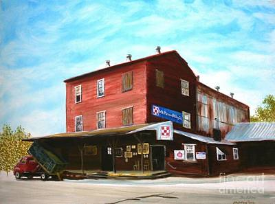 Painting - Mt. Pleasant Milling Company by Stacy C Bottoms