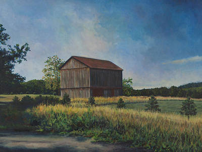 Painting - Mt. Pleasant Morning by David P Zippi