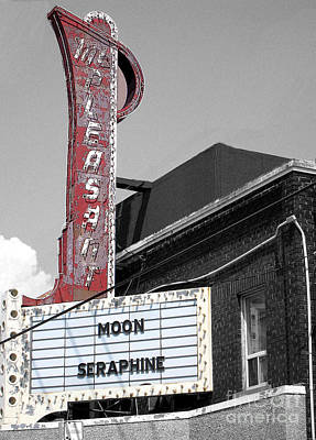 Photograph - Mt. Pleasant Theatre In Toronto by Nina Silver