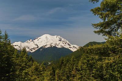 Photograph - Mt Rainier by Brian Harig