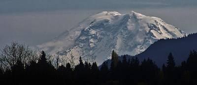Photograph - Mt. Rainier by Bruce Bley