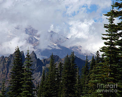 Photograph - Mt. Rainier I by Chuck Flewelling