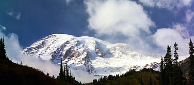 Mt Rainier II Art Print